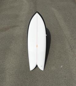 PLANCHE DE SURF FISH DERIVES WOOD