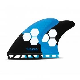 AILERONS DE SURF FAM1 HEX BLUE