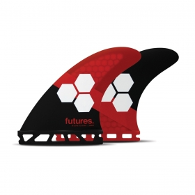 AILERONS DE SURF FAM3 BLACK RED