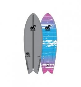 PLANCHE DE SURF MOUSSE 5'8 VAMPIRE TWIN
